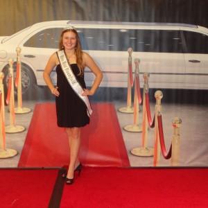 Natasha Dabrowski of Michigan on the Red Carpet