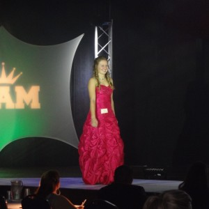Natasha Dabrowski of Michigan modeling her Formal Wear!