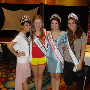 Natasha Dabrowski of Michigan and her National Queens!