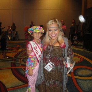 Miss Arizona Gabriela Bustillos with Breanne Maples