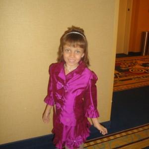 Miss Arizona Gabriela Bustillos in her suit.