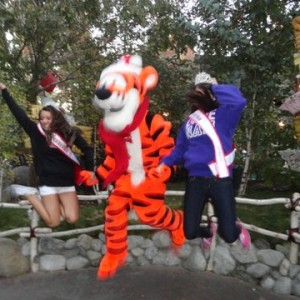 AL and Tenn jumping with Tigger