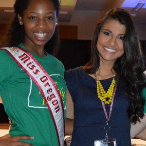 Oregon Preteen Queen Hailey Kilgore with Brittany!