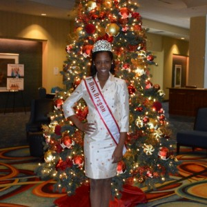 Miss Oregon Preteen Hailey Kilgore is getting ready for check-in!