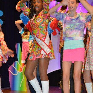 Miss Oregon Preteen Hailey Kilgore is Dancin' and Singin' and Movin' to the Groovin' at the 70s party!