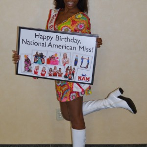 Happy birthday NAM!  Thanks for letting Miss Oregon Preteen Hailey Kilgore share it with you!