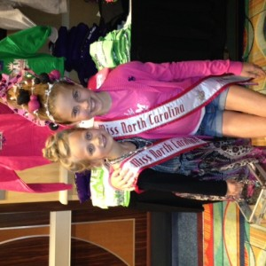 Sporting some Crazy Hair - Hannah Gold with Sister Queen Faith Yeley