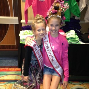 Sporting some Crazy Hair – Hannah Gold with Sister Queen Faith Yeley