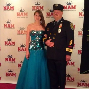 Brittney & her dad ready for Formal Wear