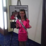 Miss Kentucky Jr. Pre-Teen Brennan Walters on day six... interview day!