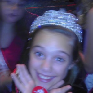 Brennan Walters Miss Kentucky Jr. Pre-Teen waiting for the numbers to be called