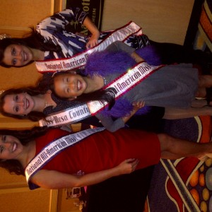 Heather Banister Miss Mesa County with current National Queen