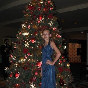 Rachel before formal wear comp.