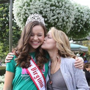 Miss Va Jr. Teen - Sydni Alexander - getting some love from her Grandma