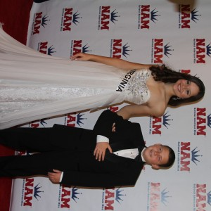 Miss Va Junior Teen - Sydni Alexander - and her handsome uncle, Colin Campbell