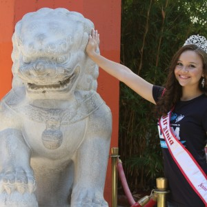 Miss Virginia Jr. Teen - Sydni Alexander - at the chinese theater