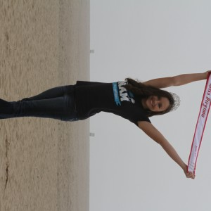 Miss Virginia Junior Teen - Sydni Alexander - having fun at the beach