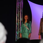 Miss Virginia Jr. Teen - Sydni Alexander - on stage waiting her turn for personal intro