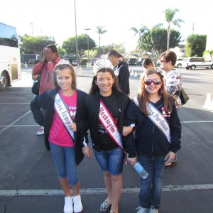 Miss Tampa w/sister queens Miss Washington and Miss Portland