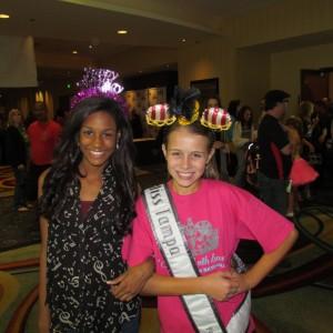 "Miss Tampa & Miss Orlando ""Happy Birthday NAM""!"