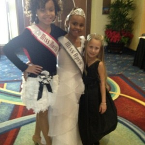 Miss NC princess Faith Anne Yeley is the smallest of the Queen court!