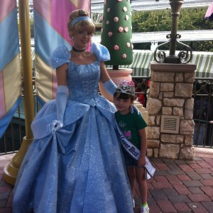 Baylie Hileman and Cinderella