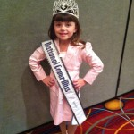 Baylie Hileman, National Cover Miss 2012-13 in interview suit