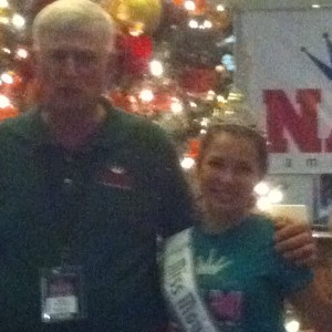 Adrienne Foret Miss Montville, CT Jr Teen with state director 2012