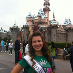 Adrienne Foret Miss Montville, CT Jr Teen In Disney in Nam Attire 2012