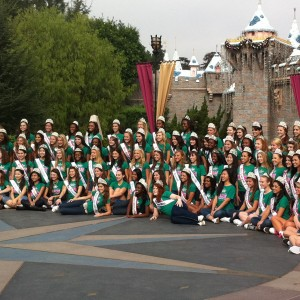 Jr Teens 2012 At Disney Castle With Adrienne Foret Miss Montville, CT Jr Teen