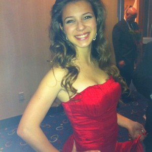 Adrienne Foret Miss Montville, CT Jr Teen Formalwear