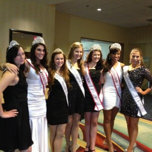Miss CTs and Runners Up Thanksgiving Banquet 2012