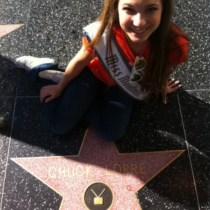 Adrienne Foret Miss Montville, CT Jr Teen with Big Bang Producer Hollywood Star 2012