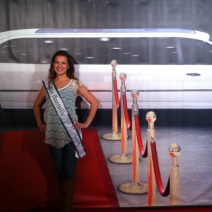 Adrienne Foret In Red Carpet Room 2012
