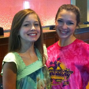Adrienne Foret and Jessica Driessel - NAM Project Runway Model for Ambition Group 2012