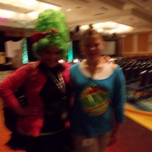 Illinois State Ambassador (Pre-Teen) Bridget Dunn with Illinois State Director Breanne Maples!