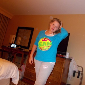 Illinois State Ambassador (Pre-Teen) Bridget Dunn sporting some NAM apparel!