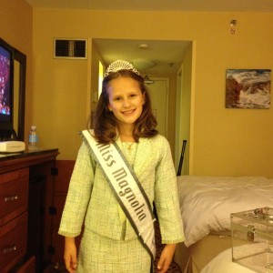 Carley Miss Magnolia Princess