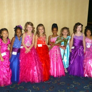 Princess Team Ambition before Formal Wear