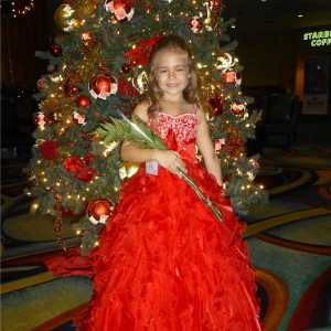 All American Princess Alyssa deBoisblanc after Formal Wear
