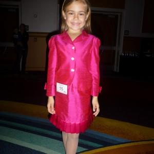 CA All American Princess Alyssa deBoisblanc ready for interview
