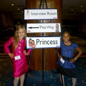 Team Ambition Princesses  Alyssa and Alliyssa after interview