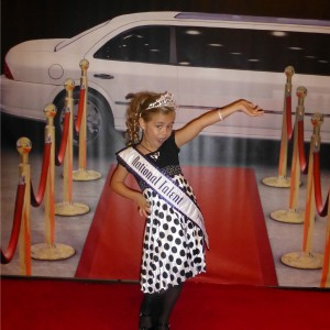 2012 Princess National Talent Winner Alyssa deBoisblanc after Thanksgiving Banquet