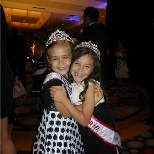 Princess Team Ambition California pals Alyssa deBoisblanc & Kaysee French at the Thanksgiving Banquet