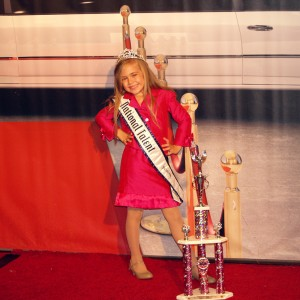 2012 Princess National Talent Winner Alyssa deBoisblanc ready for her limo!
