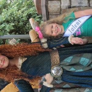 Two Princesses- Cori and Merida
