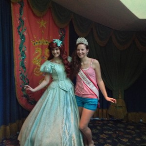 Ashley Miss PA 2012 with my fav character Ariel!