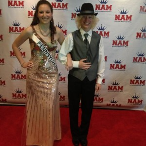 Ashley Miss PA 2012 with little brother