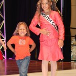 Miss California Emery with sister, interview suit 2012