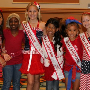 Emery Ricks CA JPT queen Patriotic Attire 2012